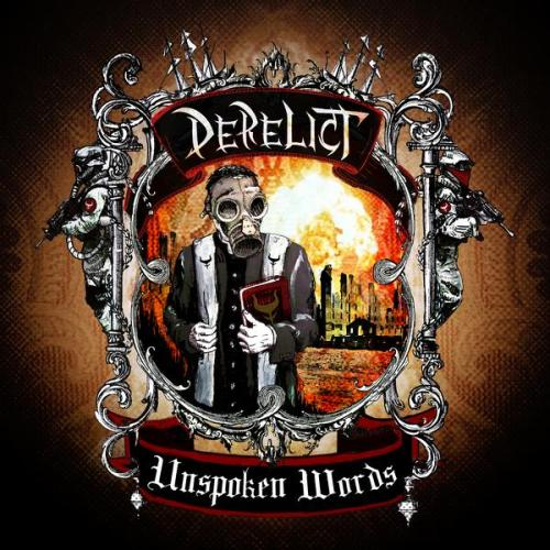 derelict unspoken words cd album cover art